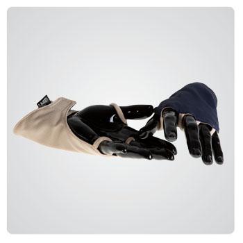 backhander gloves