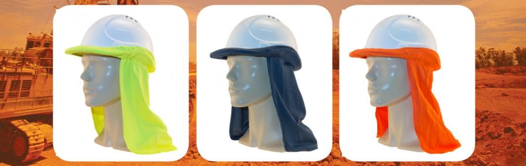 hard hat flap